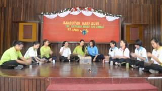 SMK SETA Sambutan Hari Bumi 2015 (Pertandingan muzik dengan barang recycle) Group PBC
