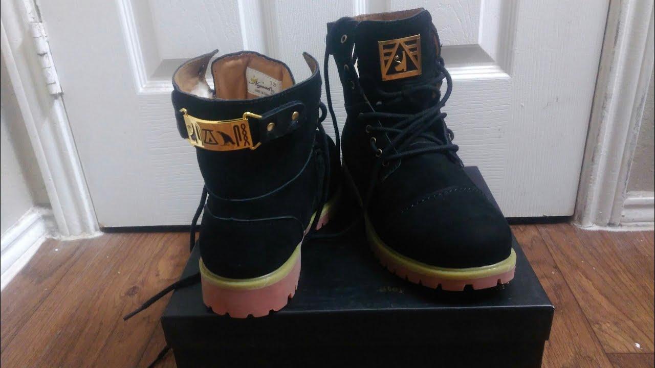 Negash Heru Boots Unboxing... Better Than #Timbs?!?!