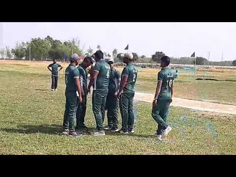 T20 Cricket Match In Sirajpur Nepal Vs Saharsha