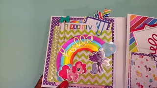 My Little Pony Flipbook| CWA Swap| Paper Purse