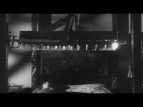 les myst res de l 39 ouest saison 1 episode 2 la nuit du lit de la mort vostfr 16 9 noir et blanc. Black Bedroom Furniture Sets. Home Design Ideas