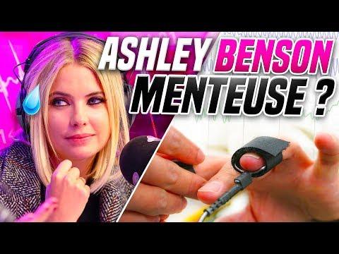 ON PASSE ASHLEY BENSON AU DÉTECTEUR DE MENE 📈🧐  Marion et Anne So