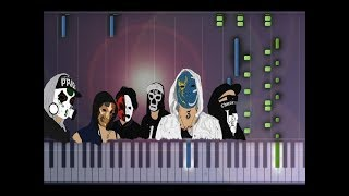 Hollywood Undead - Sell Your Soul Piano Tutorial (Synthesia Cover)