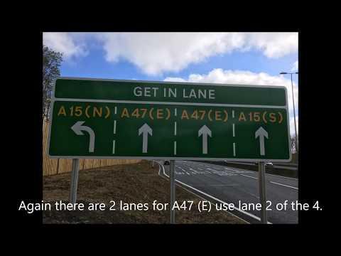 A15 A47 Roundabout.
