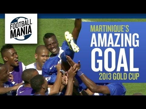 2013 Gold Cup: Martinique´s Amazing Goal in the injury time
