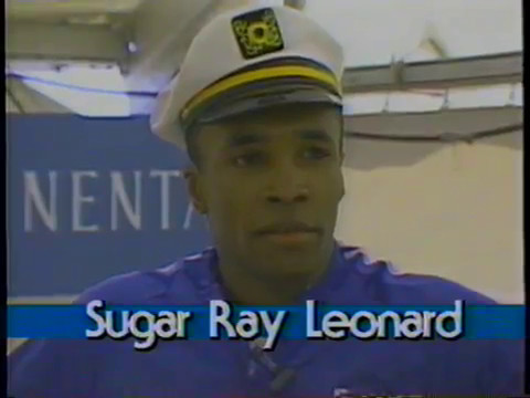 Rare! 1987 Interview with Sugar Ray Leonard (One of the Greatest Boxers Ever?)