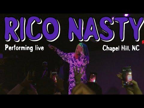 Rico Nasty Performing live | Chapel Hill NC
