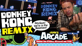 DONKEY KONG REMIX Arcade Mod with D2K - How to install plus Gameplay REVIEW!