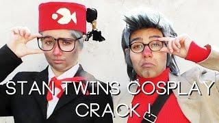Stan Twins / Gravity Falls Cosplay Crack
