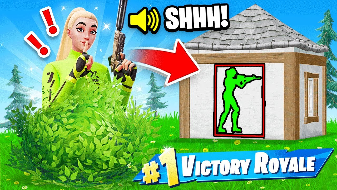 New WALL HACK Game Mode in Fortnite! (CRAZY)