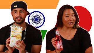 Indian & Japanese People Swap Snacks