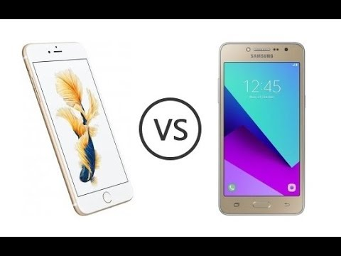Apple Iphone 6s Vs Samsung Galaxy Grand Prime Plus Speed Test Comparison | Real Test - In 2019