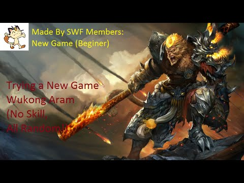 SWF League Of Legends Gameplay Aram Map - General Wukong Gameplay