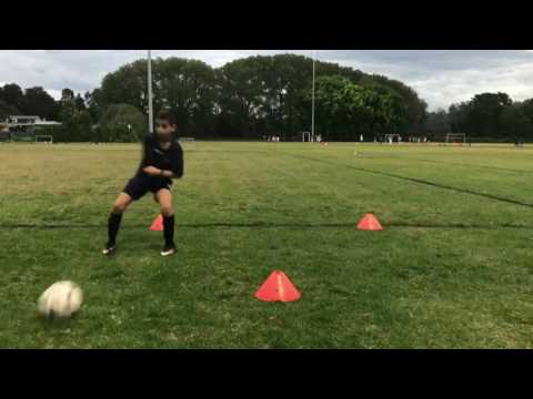First Touch Session With James Sutherland Sharks