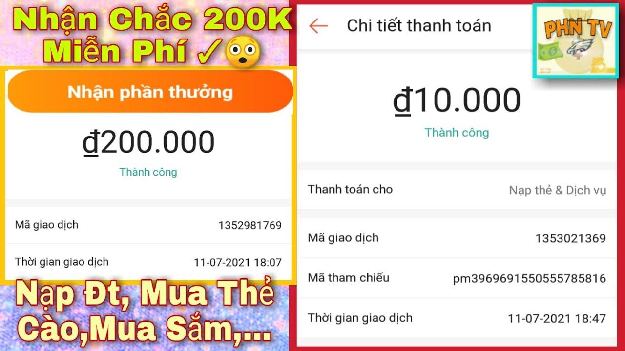 Hướng Dẫn Nhận 200K Free Mua thẻ Cào Với App Shopee - PHN Kiếm Thẻ Cào