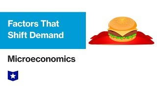 Factors that Shift Demand | Microeconomics