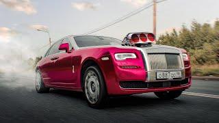 Чипанул Rolls-Royce Сколько едет Роллс-Ройс ДО чипа и ПОСЛЕ Замеры разгона и мощности 700 СИЛ