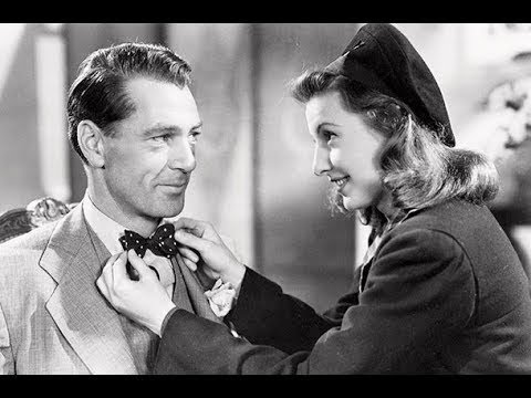 ❤1941 Powerful Inspirational DRAMA with Gary Cooper, Barbara