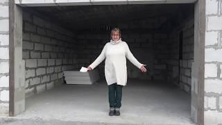 как сделать гараж из блоков своими руками