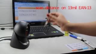 SUNLUX XL- 2002 omni barcode scanner