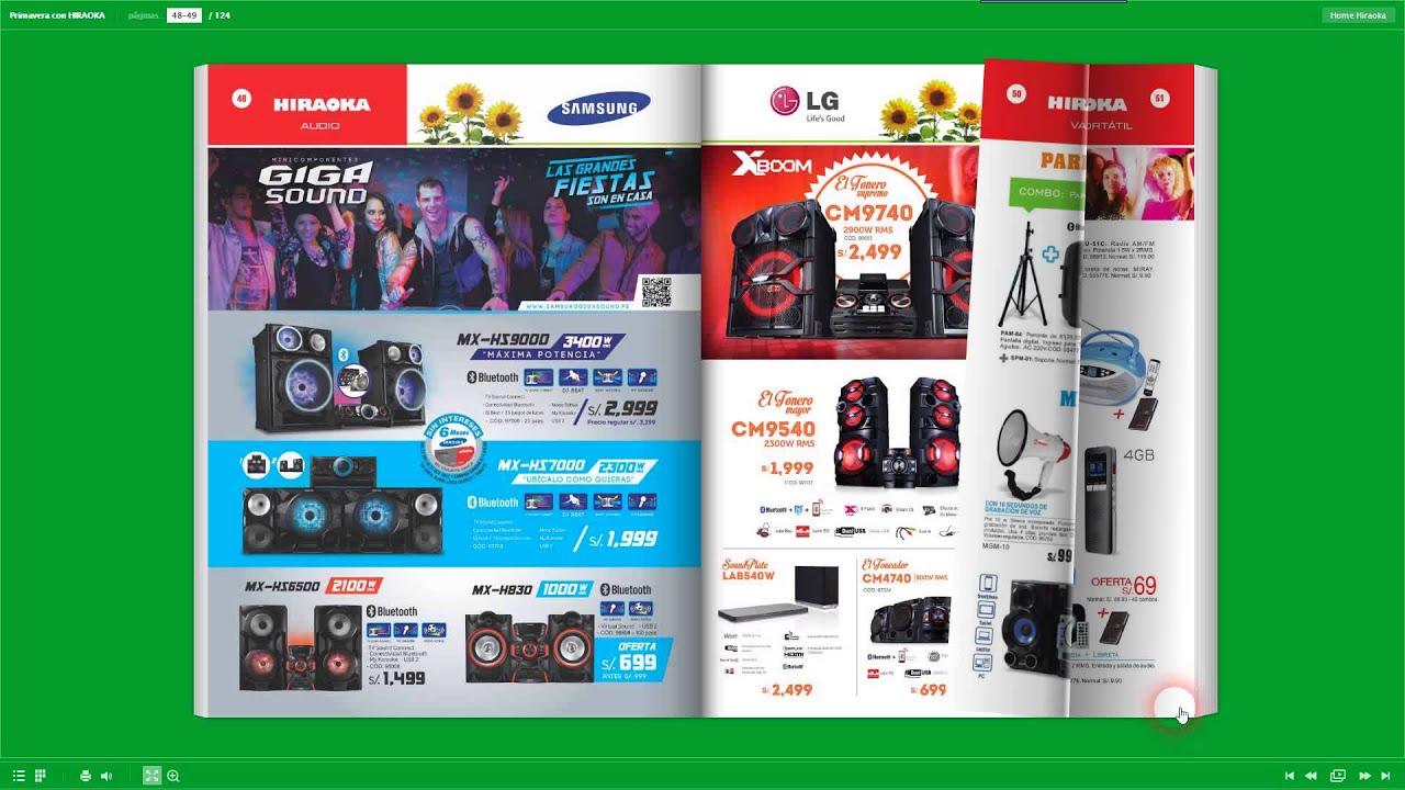 Catalogo hiraoka ofertas de octubre 2014 youtube - Hogarium catalogo de ofertas ...