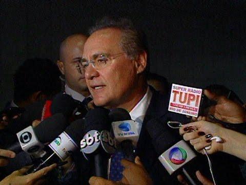 Agenda de Renan incluiu conversas com Lula e Dilma