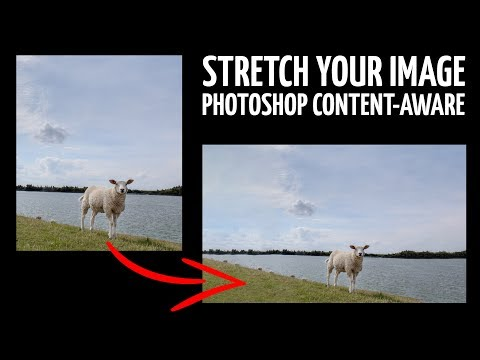 Stretch / elongate your image (PHOTOSHOP TUTORIAL) thumbnail