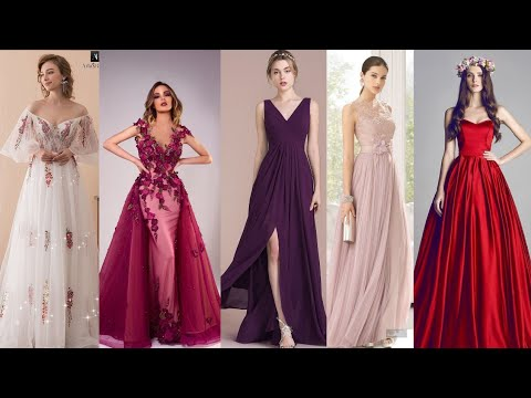 Vestidos Largos Elegantes Para Estas Fiestas-moda 2018