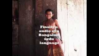 Bangalore urdu