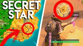SECRET STAR - WEEK 4 SEASON 5 (FORTNITE 2018)