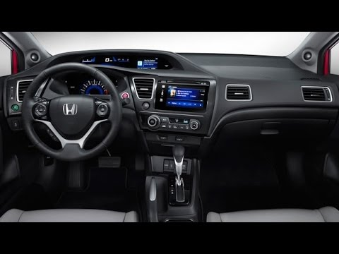 Perfect Honda   2015 Honda Civic Coupe Interior   YouTube