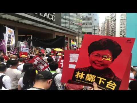 香港69轰动世界大游行!中国大陆人的感受