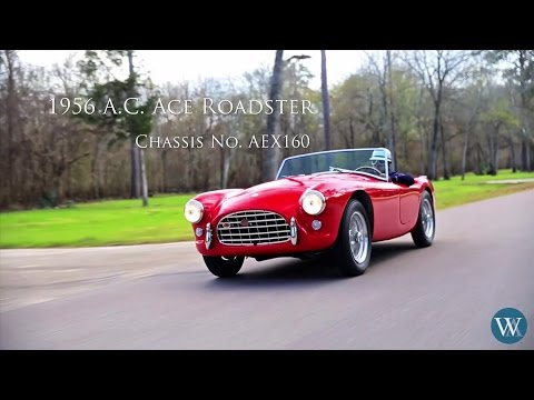 1956 AC Ace Roadster to be Sold at The Houston Classic Auction