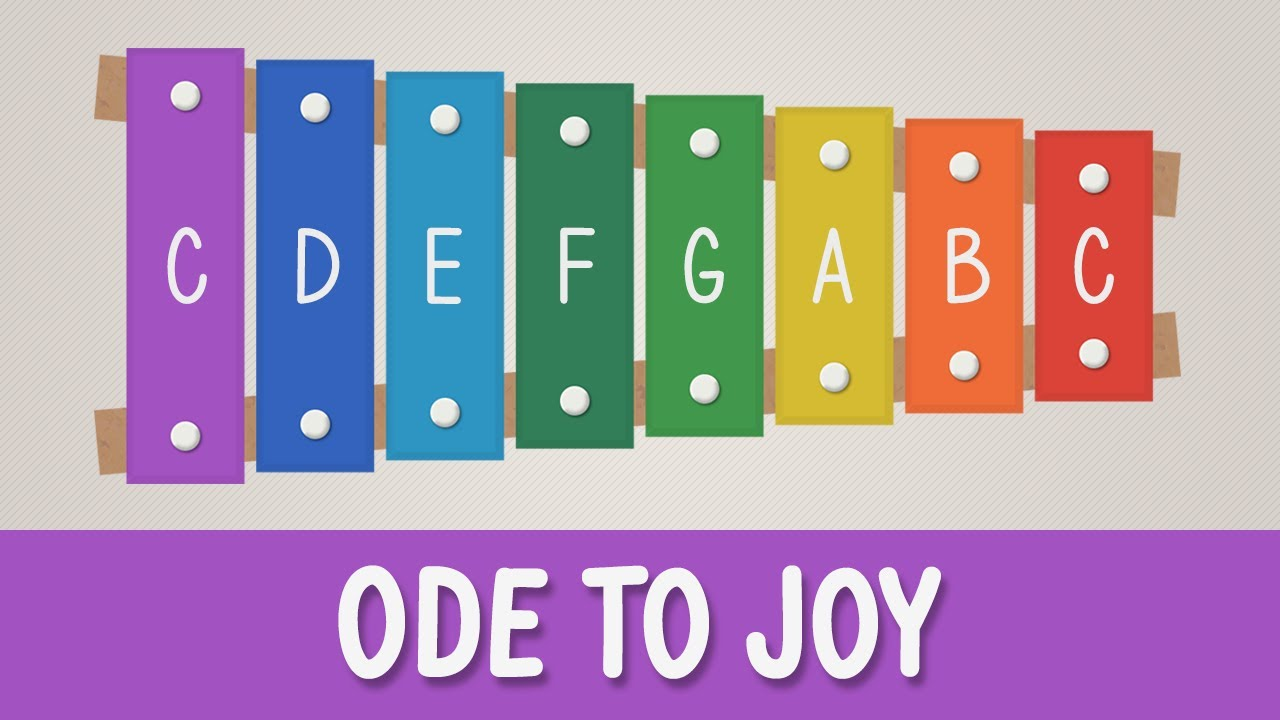 How to play Ode to Joy on a Xylophone - Easy Songs ...