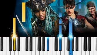 Descendants 2 - What's My Name - Piano Tutorial - Disney's Descendants 2 OST