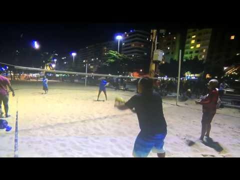 Beach tennis is now volleyball espn