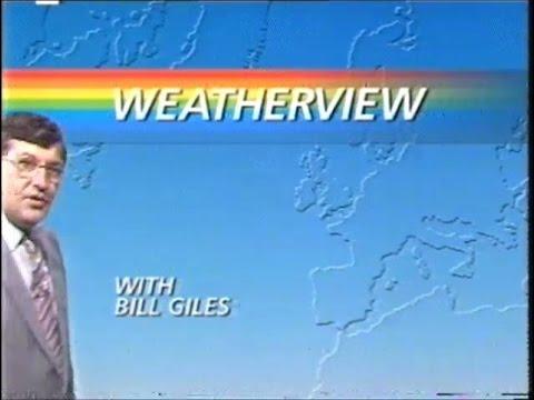 BBC2 Weatherview Closedown & Open University Startup - 1985