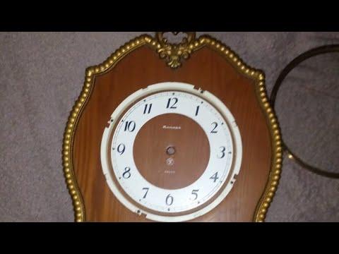Рзбор механизма часов янтарь