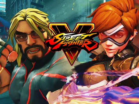 MAX VS ...TRACER?! - Road to Platinum w/Mods! (Street Fighter V Ranked)