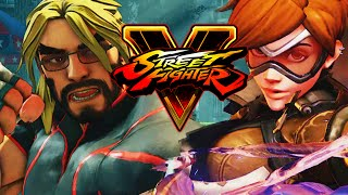 MAX VS ...TRACER?! - Road to Platinum w/Mods! (Street Fighter V Ranked)