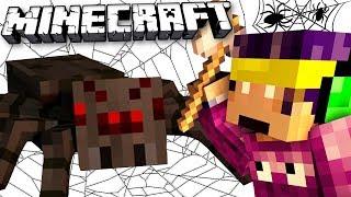 Paianjenii PRIETENOSI de pe Minecraft Skyblock