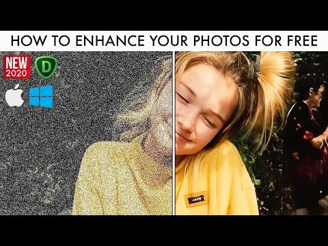 How To Easily Enhance And Remove Noise From Your Photos For Free! (2020 / DeNoise AI - Topaz Labs)