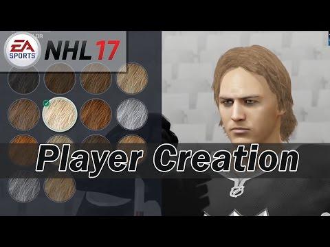 NHL 17 Beta Gameplay   Starting Screens, EASHL Player Creation + Customization