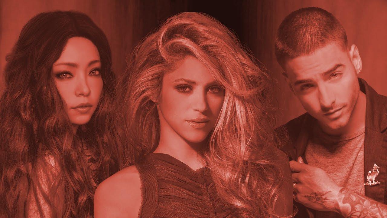 Shakira & Maluma ft. Namie Amuro - Want Me, Want Chantaje ...