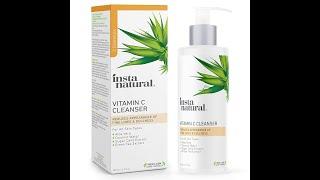 Vitamin C Facial Cleanser   Anti Aging