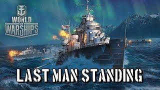 World of Warships - Last Man Standing