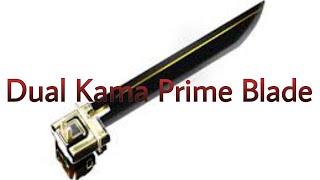 Getting the Dual Kama Prime Blade