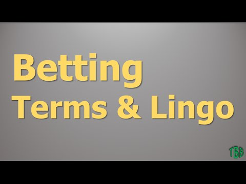Sports betting terms push ups betting on non-sporting events in phoenix