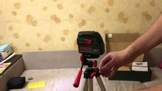 Обзор Bosch PCL 10 Set = лазерный нивелир =