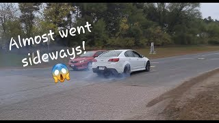 MN Cars & Coffee October 2018 || Cars Leaving
